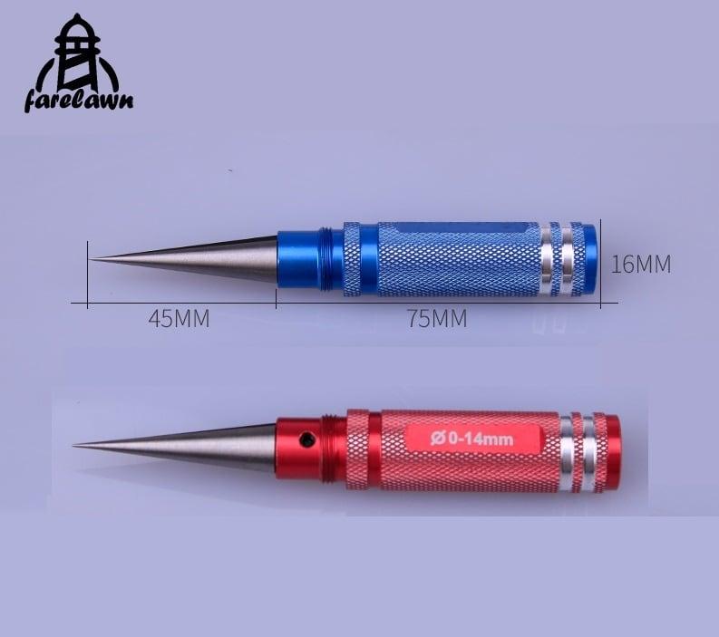 ◆テーパリーマー(φ0-14mm)穴拡大機体制作時に1個あればとても便利で重宝するリーマーです。