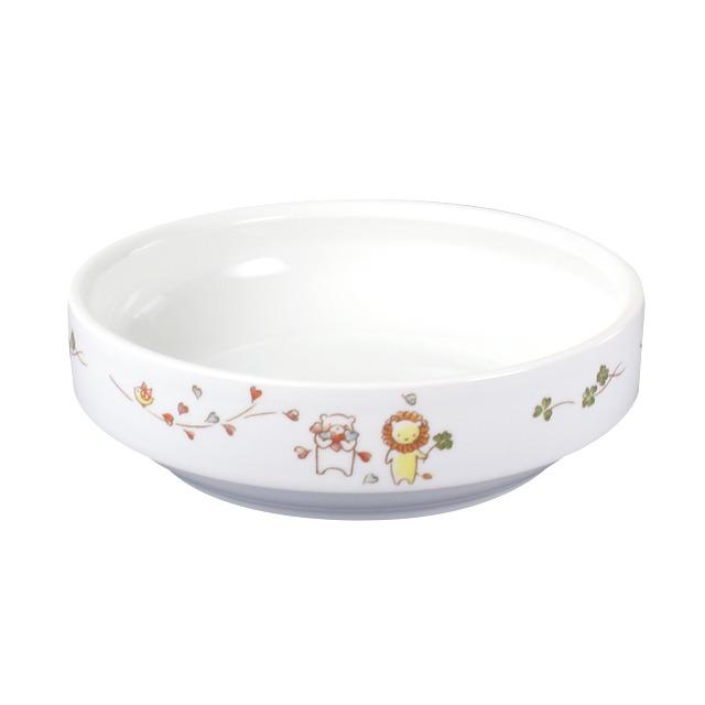 強化磁器 14.5cm すくいやすい食器 そよかぜ【1714-1360】