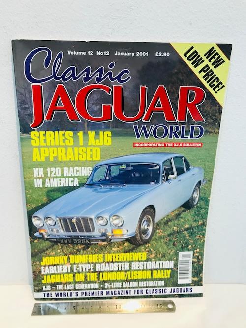 洋雑誌 CLASSIC JAGUAR WORLD 2001年