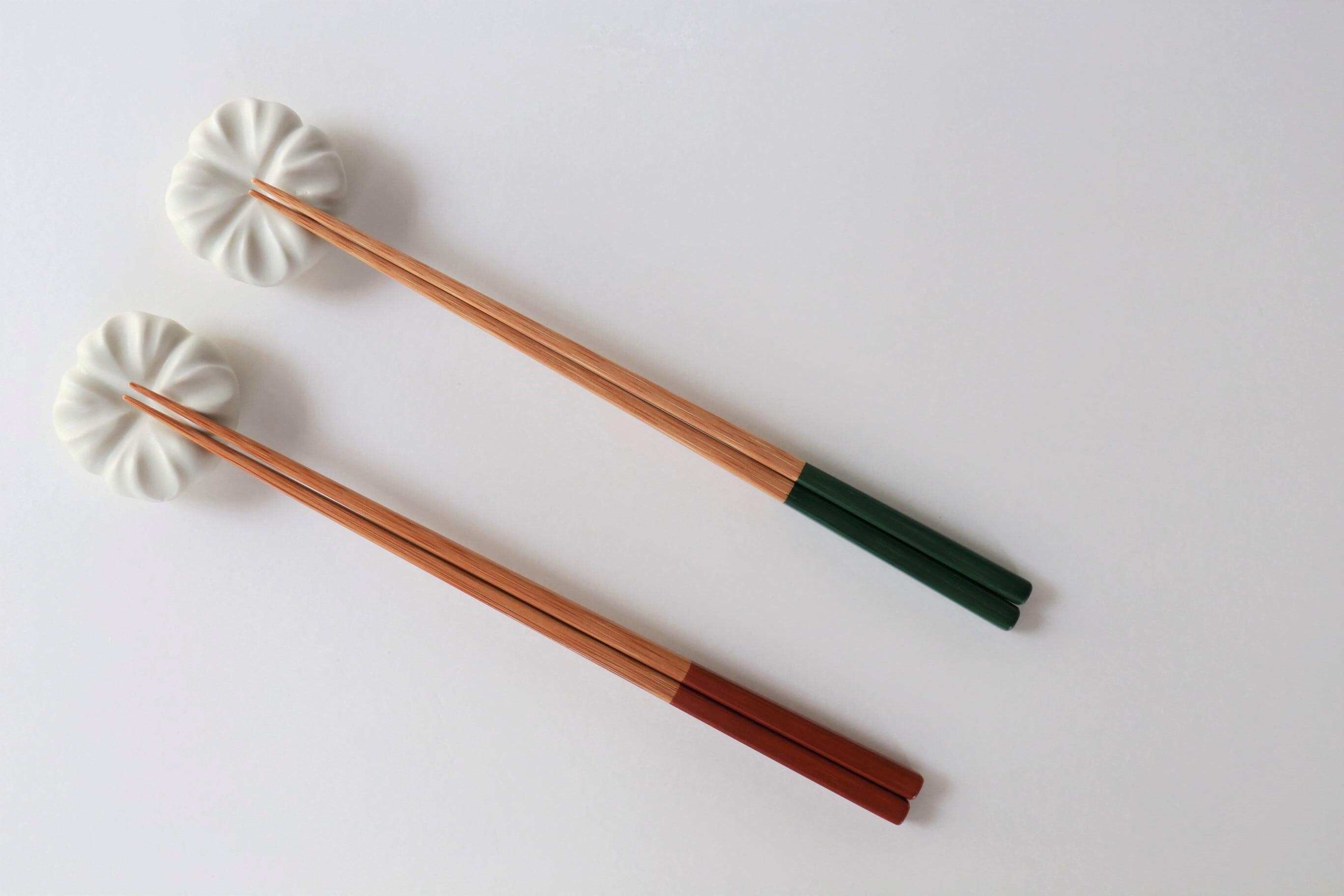 けはれ竹工房 自然塗料 大人箸