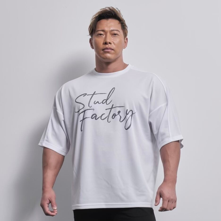 loose fit dryT-shirt (WHITE)
