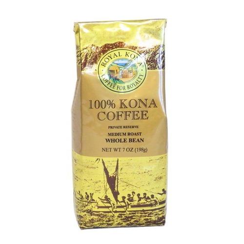 プライベート・リザーブ WB(挽いていない豆) ロイヤルコナ(7oz 198g) 100%コナコーヒー(挽いていない豆)
