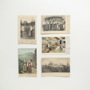 Postcard Set / National Costume