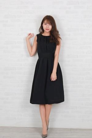 soft satin tack dress