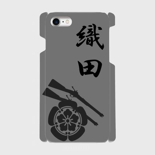 織田氏家紋 / iPhoneスマホケース(ハードケース)