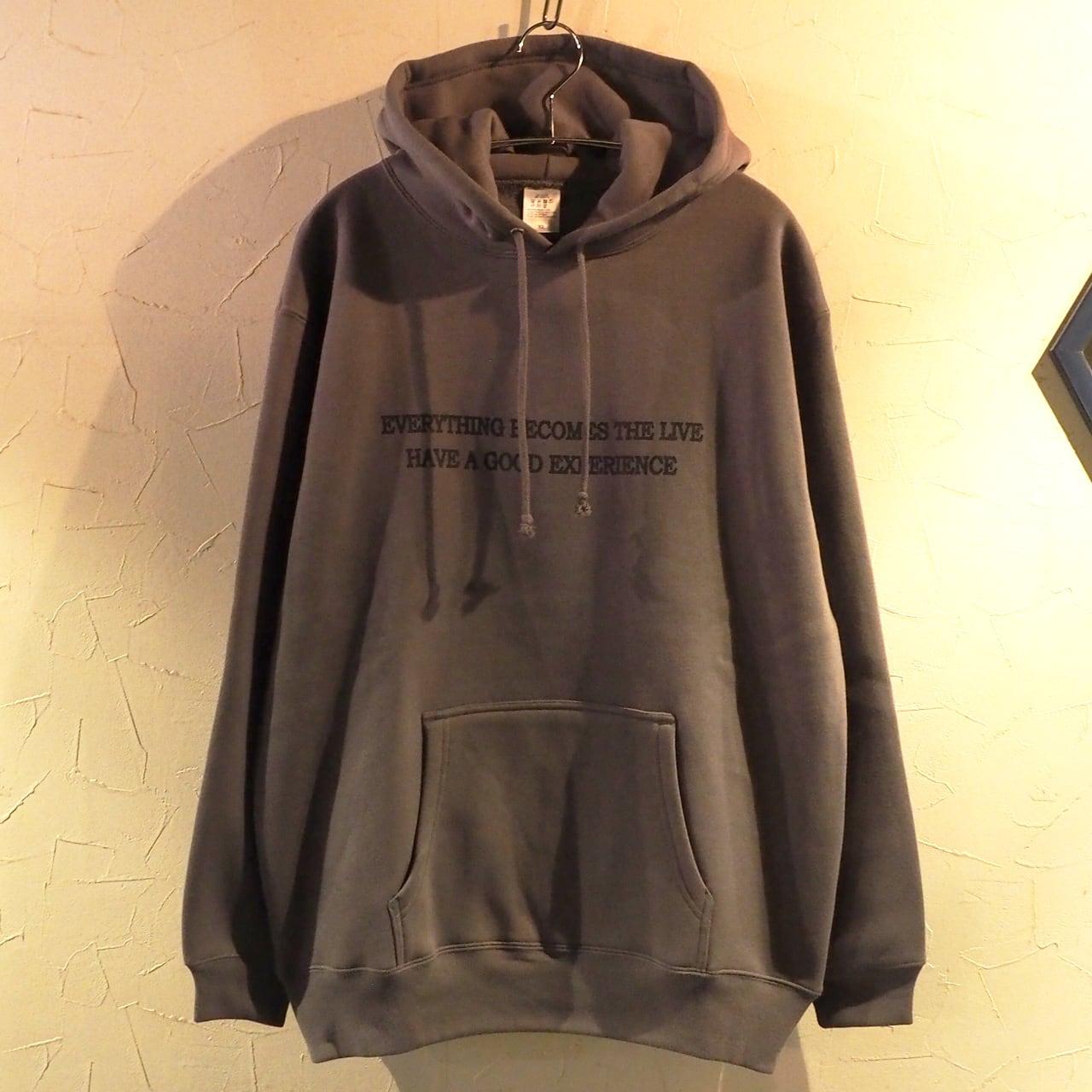 【一点物】Everything becomes the live Pullover Charcoal XLサイズ