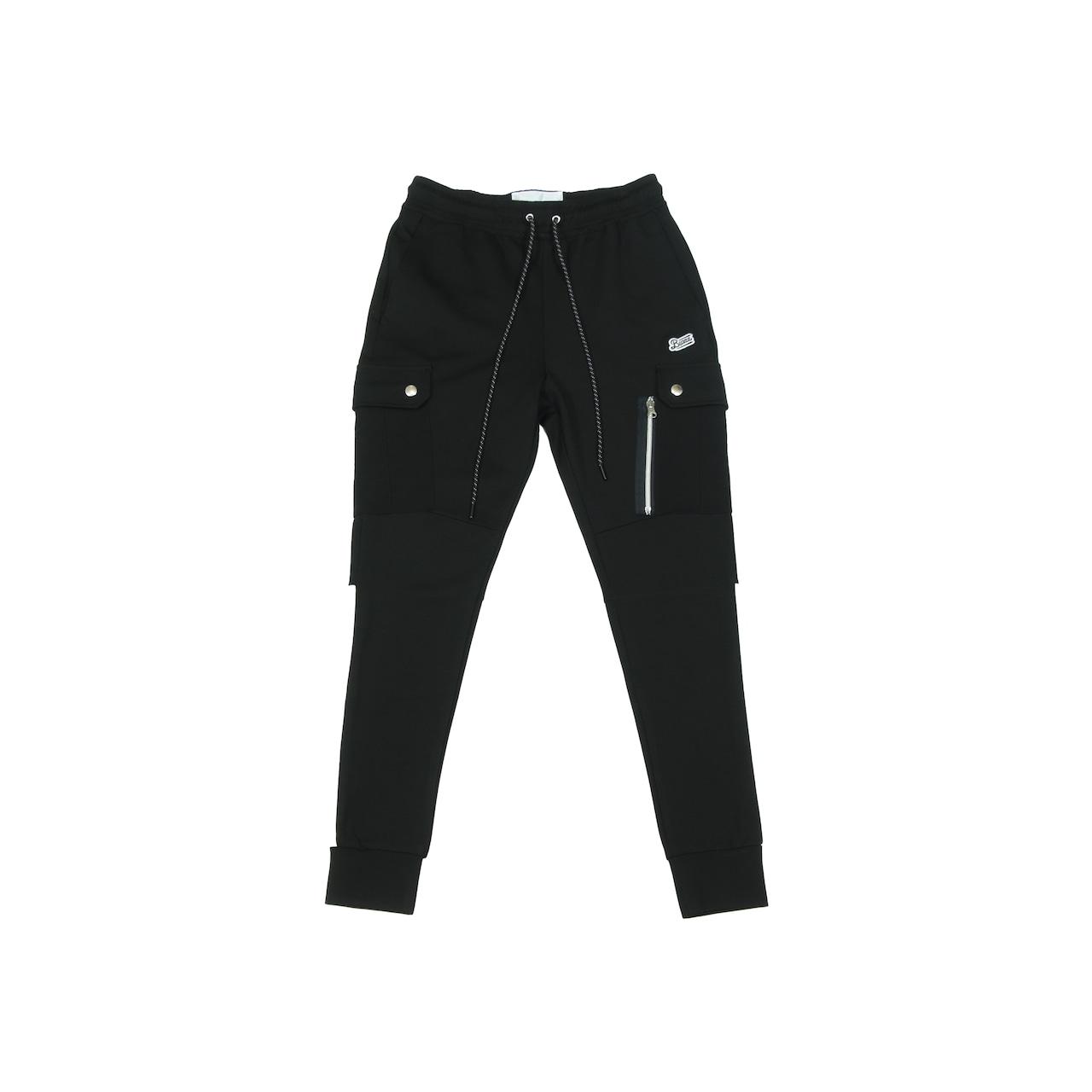 Stretch Slim Sweat Cargo [BLACK] *SPECIAL