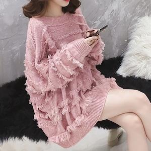 一目惚れ女らしいセーター3色   <ins-1248>