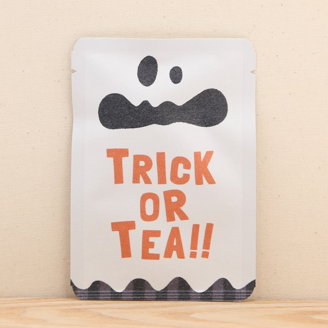 trick or tea(おばけ) ハロウィン ごあいさつ茶