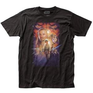 Tシャツ スター・ウォーズ ファントム・メナス ポスター