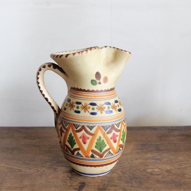古陶器の水差し