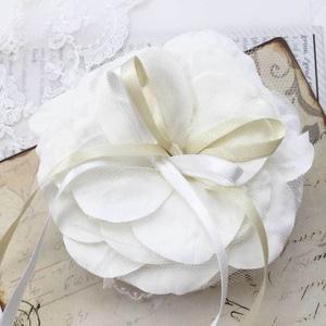 花びらとリボン リングピロー手作りキット