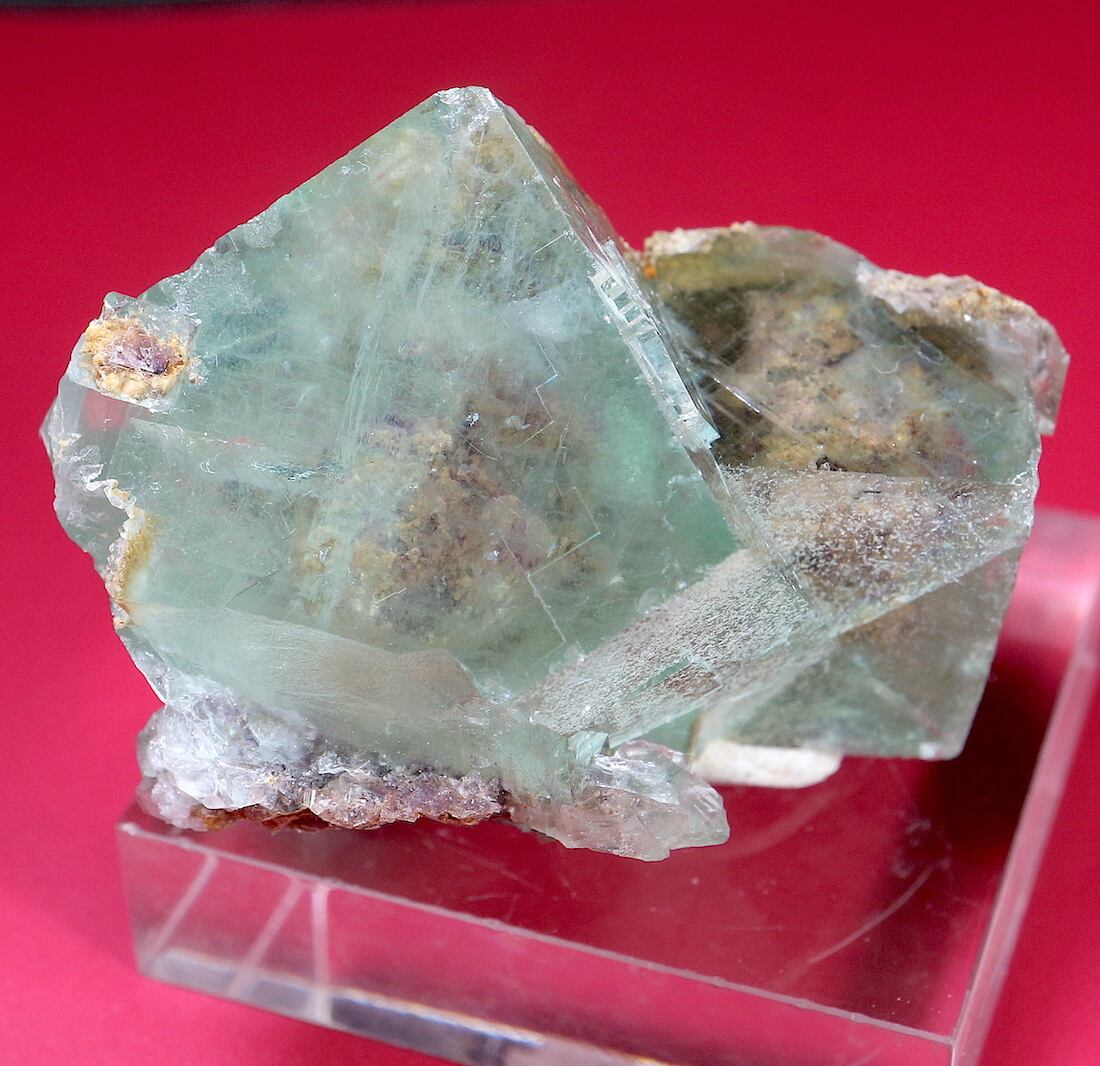 ※SALE※モロッコ産 フローライト 蛍石 原石 51,8g  FL104 鉱物 天然石 パワーストーン