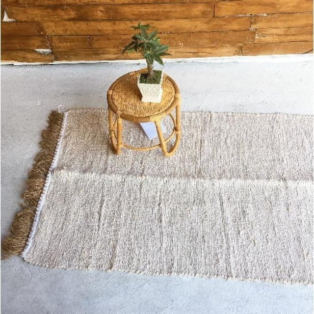 TOPANGA Homefurnishing ナチュラルヘンプラグマット 80×140cm
