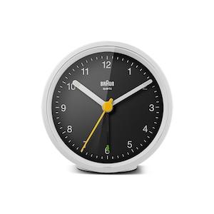 BRAUN (ブラウン) Alarm Clock BC12WB【ホワイト×ブラック】
