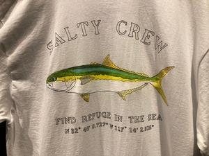 Salty Crew  Mossback  White  Lサイズ 51-225