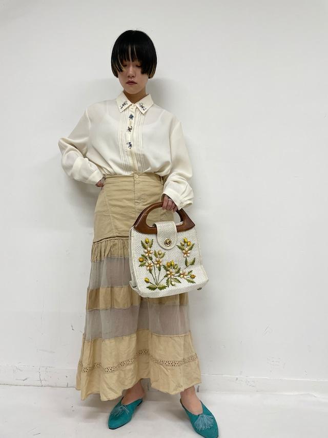 floral blouse / 7SSTP16-05