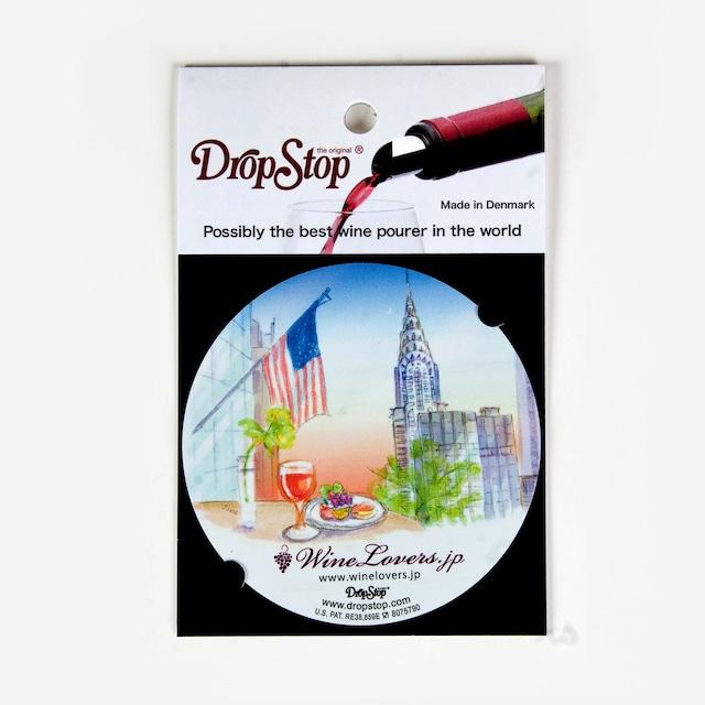 【アウトレット】ワインの液だれ防止 ドロップストップVol.1 / アメリカ 1枚入り DropStop DSS007