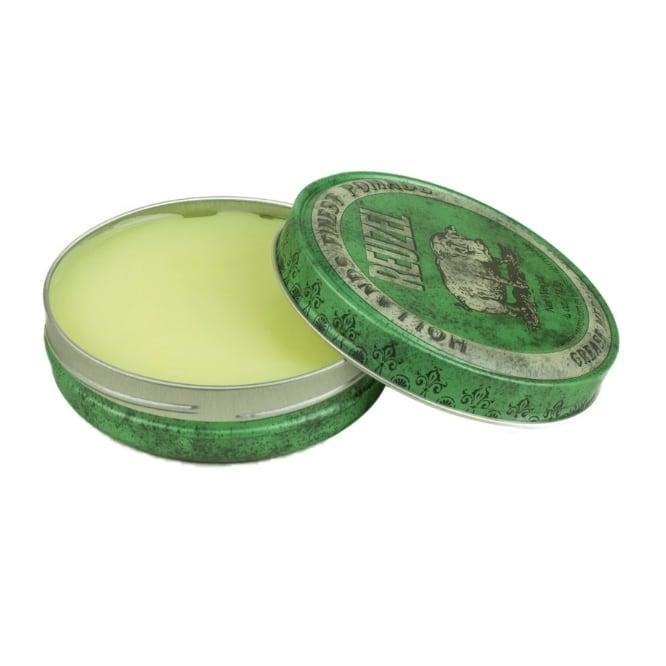 卸売決済用 Reuzel(ルーゾー)  グリーンポマード 油性ミディアムホールド 緑缶 113g