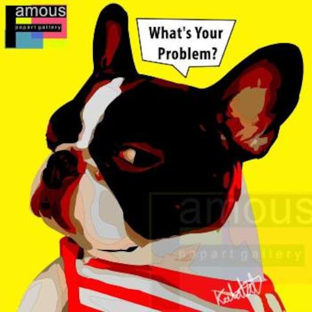 WHAT'S YOUR PROBLEM/ WHAT'S YOUR PROBLEM / Lサイズ 52cm / PAPAN_0018