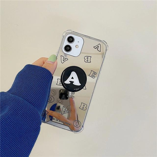 Mirror writing iphone case