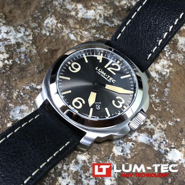 【即納品】【世界限定100本/ラスト1本】M82 42MMケース 316Lステンレス 自動巻き スイス製 Sellita SW200ムーブメント採用 メンズウォッチ 腕時計【LUM-TEC/ルミテック】