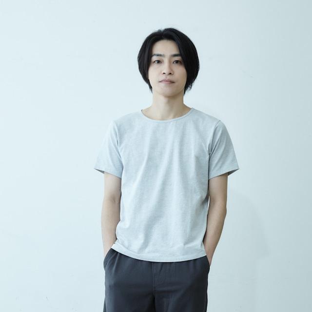【MEN】ココロカラダスミキル Tシャツ(グレー/チャコール/ブラック)