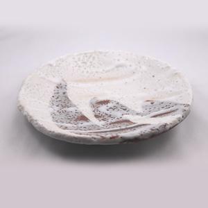 志野 七寸丸皿  Shino 7-sun(8.4 inches) Round Plate