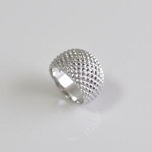 Hedgehog Ring Silver