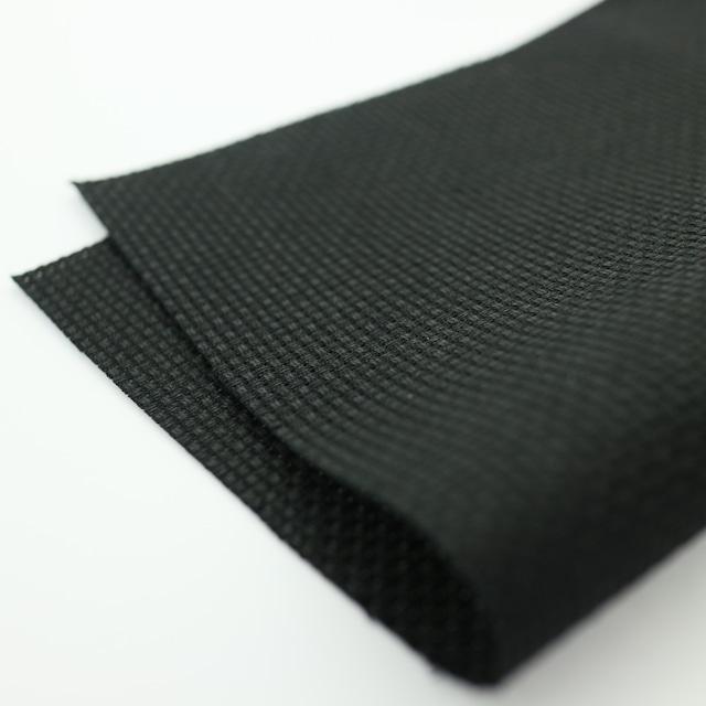 綿|ジャバクロス65/1.ブラック/65目・16カウント
