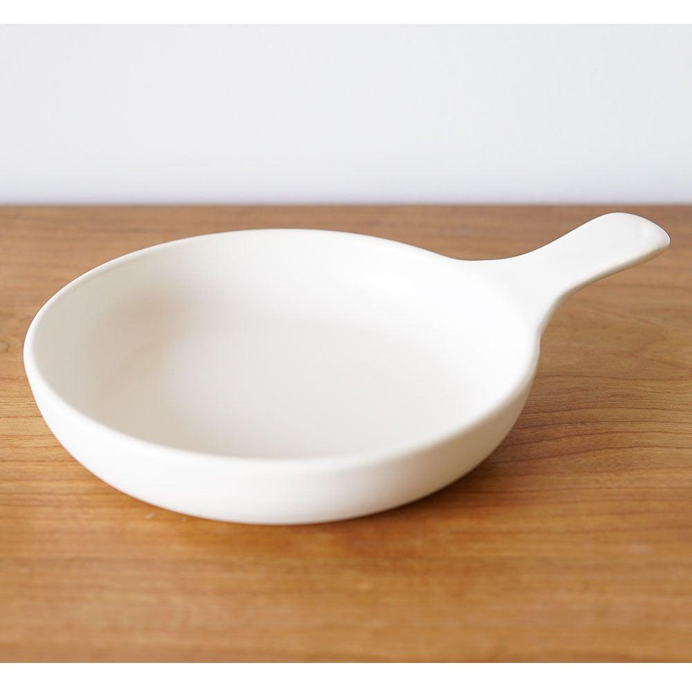 キッチンスタジオ「パンダ食堂」 ミニグリルパン ホワイト