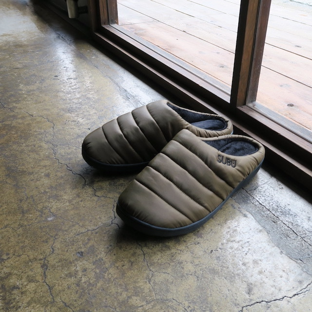 SUBUソール 『冬にはくサンダル』(khaki)