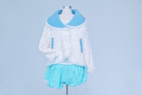 もこもこ雪のショートジャケット Fluffy Snow Jacket