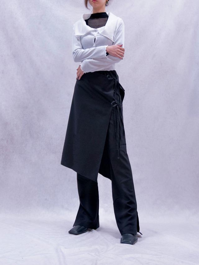 【WOMENS - 1 size】WRAP SKIRT PANTS / 2colors