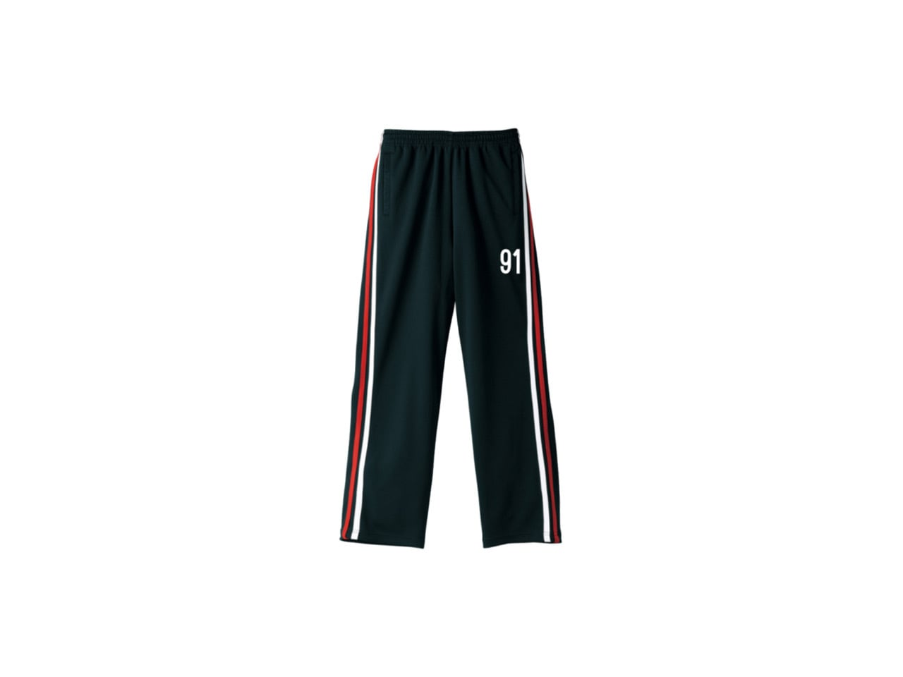 coguchi 91s dry pants (BLK/RED/WH)