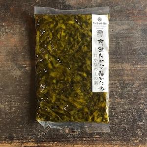 炊きたてご飯と混ぜるだけ。阿蘇たかな油炒めーたかなめしの素ー