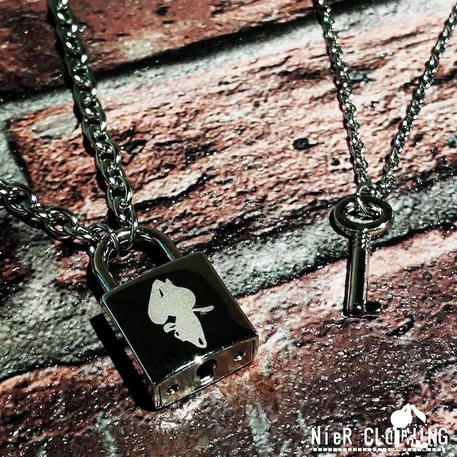 NieR SIRUETTO PADLOCK(南京錠)NECKLACE【2種類セット】