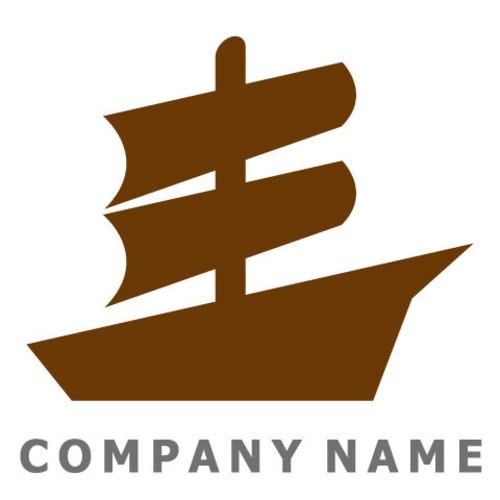 帆船イメージ ロゴデザイン