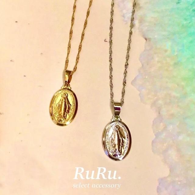 maria coin necklace