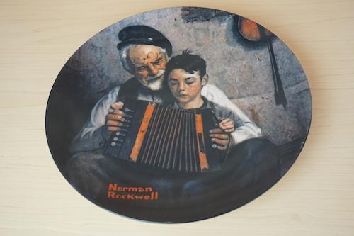ノーマンロックウェル 絵皿(114-17)