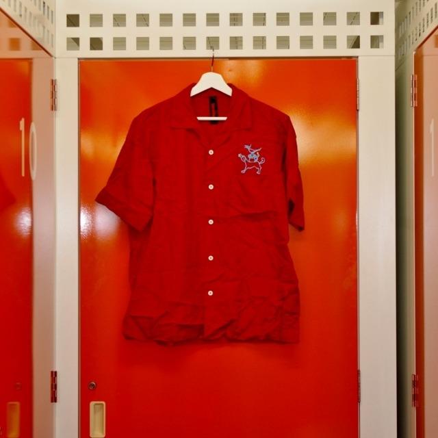 ブロード長袖シャツ