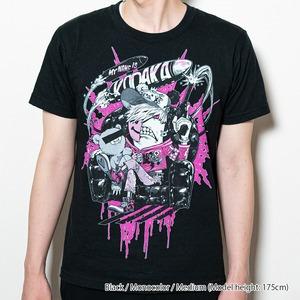 [Black / Monocolor] Collaborative T-shirt by Kazutaka Kodaka (Tookyo Games) and jbstyle. *Use coupon code for 10% OFF