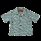 K'rooklyn Exclusive Kids Shirts -Navy & Yellow-(110cm)