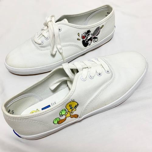 Vintage Looney Tunes × Keds Sneakers (23.5cm)