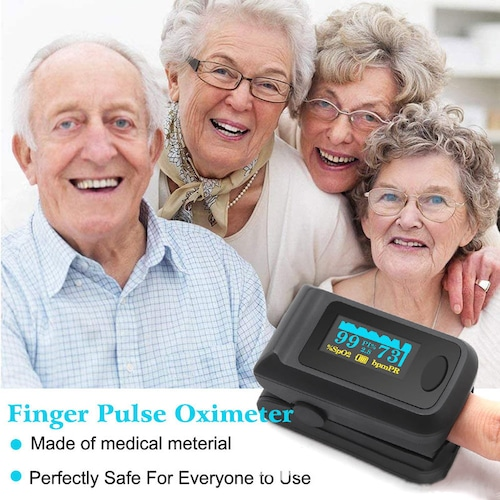 感染予防!本日出荷!パルスオキシメータ 血中酸素飽和度測定 心拍計  パルスオキシメータ 血中酸素濃度 測定器 脈拍計 PI還流指標 指先 看護 介護 家庭用 高性能 心拍計 健康管理 機能性高い