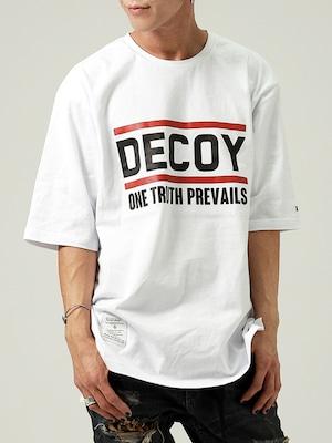 DECOY & CO. (デコイアンドシーオー) PREVAIL TEE / WHITE D63611-00