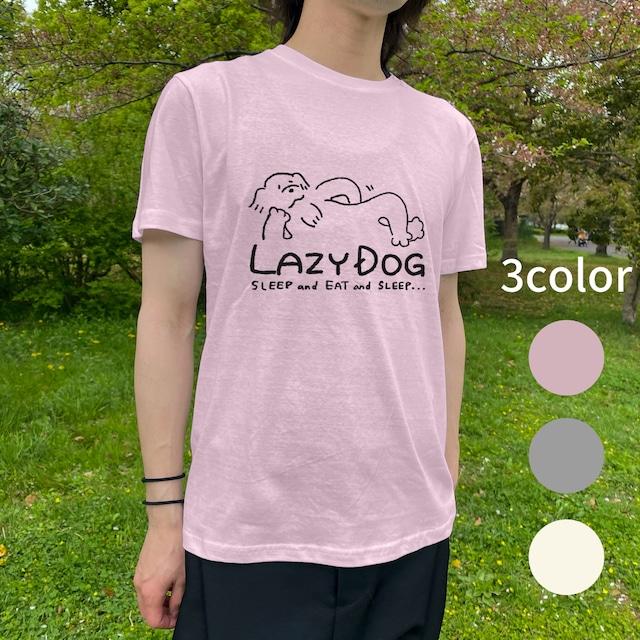 LAZY DOG カラーTシャツ