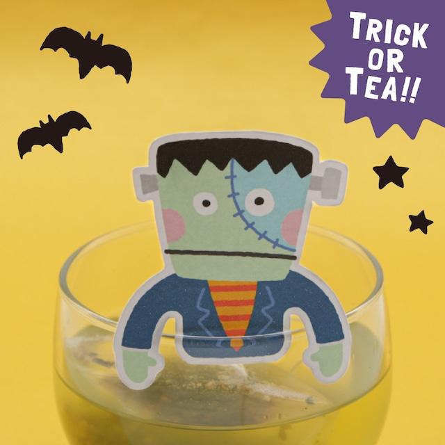 フランケンの玄米茶|ハロウィンおばけのティータグシリーズ