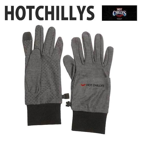 HOT CHILLYS (ホットチリーズ) アクディブヒート ライナー グローブ HC9116 タッチパネル 対応 スマホ手袋 冬 スキー スノボ アウトドア 雪山 ノルディック 手袋