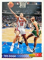 NBAカード 92-93UPPERDECK Tate George #155 NETS